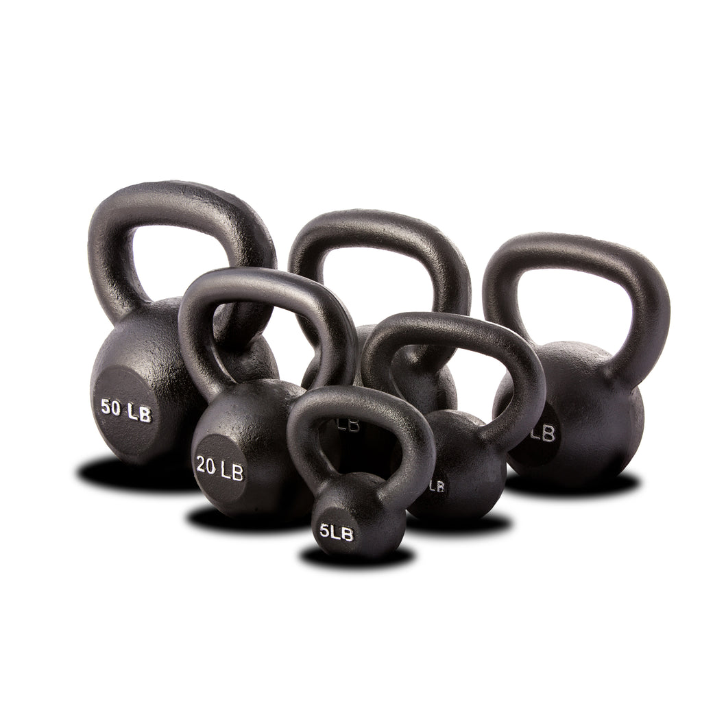 York Barbell Single Kettlebell Black