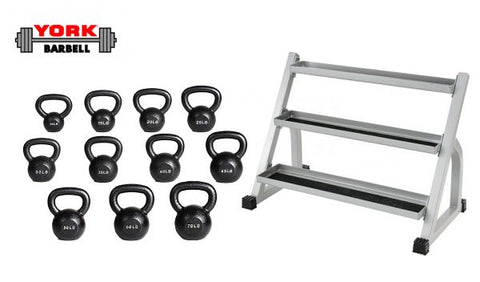 Image of York Barbell Kettlebells - Mega Package