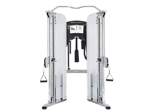 BodyCraft PFT Functional Trainer 2x160lb Stacks w/accessories/workout (Free Stability Ball Included)