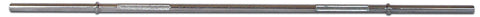 Image of York Barbell Standard Deluxe Bar w/ Fixed Inner Collars