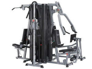 BodyCraft X4 Four Stack System, Cable Column & Leg Press included