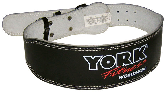 "York Barbell 4"" Padded Weight Lifting Belt"