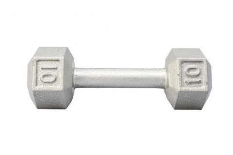 York Barbell Cast Iron Hex Dumbbell