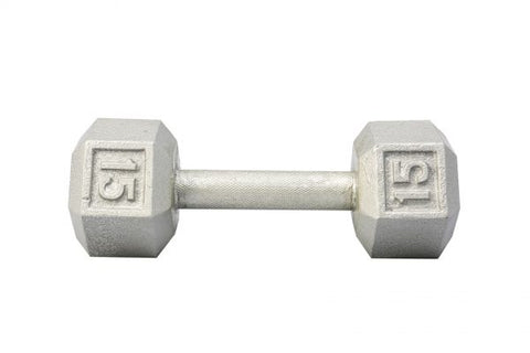 Image of York Barbell Cast Iron Hex Dumbbell