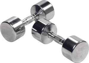 York Barbell Chrome Dumbbell