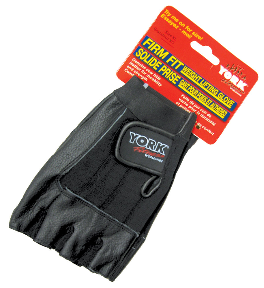 York Barbell Firm Fit Weight Lifting Glove