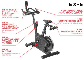 Echelon Smart Connect Bike EX5S