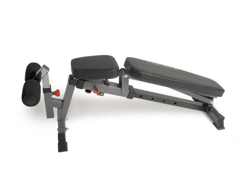 BodyCraft F320 Flat/Incline/Decline Pop-Pin System Bench w/wheels