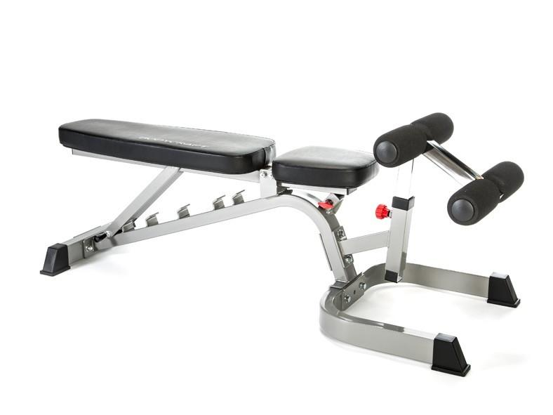 BodyCraft F602 Flat/Incline/Decline Ladder Catch Utility Bench w/wheels
