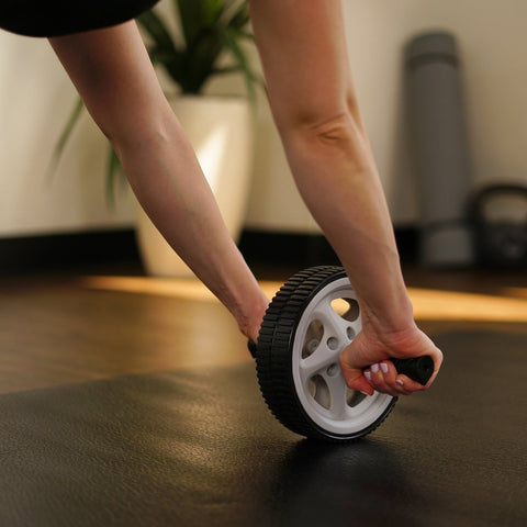Image of Sunny Health & Fitness ab Roller Exercise Wheel