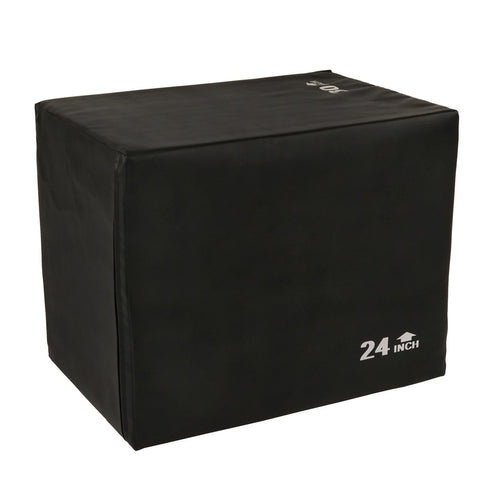 "Image of Sunny Health & Fitness Foam Plyo Box, 440 Lb Weight Capacity W/ 3 in 1 Height Adjustment - 30""/24""/20"""