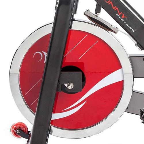 Sunny Health & Fitness Belt Drive Indoor Cycling Bike with Heavy 49 Lb Flywheel