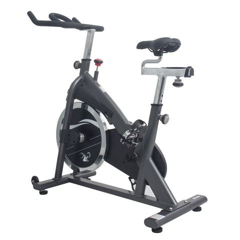 Image of Sunny health & Fitness Clipless Pedal Premium Indoor Cycling Exercise Bike with Chain Drive