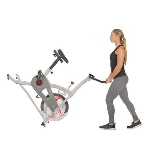 Image of Sunny Health & Fitness Indoor Cycling Bike with Magnetic Resistance