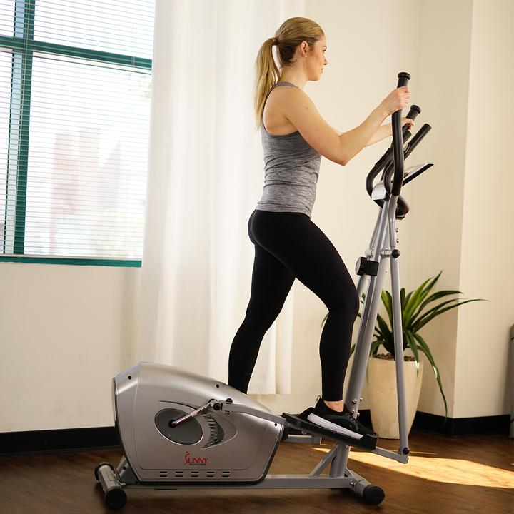 Sunny Health & Fitness SF-E3607 Magnetic Elliptical Trainer
