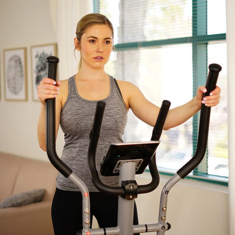 Image of Sunny Health & Fitness SF-E3607 Magnetic Elliptical Trainer