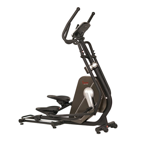 Image of Sunny Health & Fitness Magnetic Elliptical Machine W/ Device Holder, Lcd Monitor and Heart Rate Monitoring - Circuit Zone