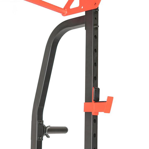 Image of Sunny Health & Fitness Lat Pull Down Attachment Pulley System for Power Racks