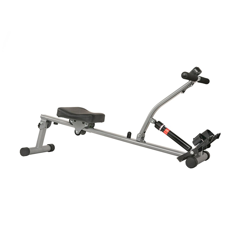 Sunny Health & Fitness 12 Adjustable Resistance Rowing Machine Rower W/ Digital Monitor
