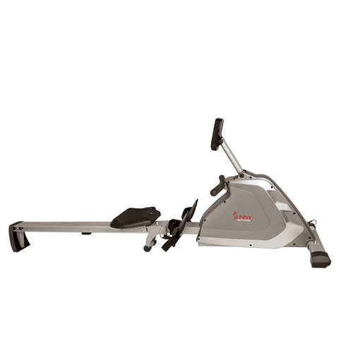 Image of Sunny Health & Fitness Magnetic Rowing Machine Rower W/ High Weight Capacity, Programmable Monitor
