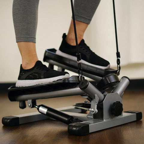 Image of Sunny Health & Fitness Twist Stepper W/ Resistance Bands - No. 045