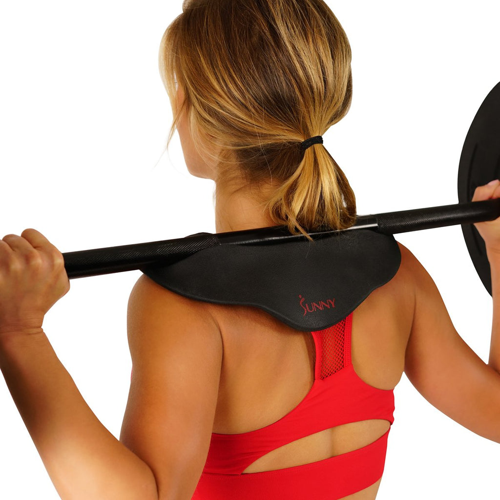 Sunny Health & Fitness Cobra Barbell Pad - Neck and Shoulder Support Pad