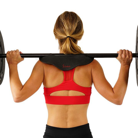 Image of Sunny Health & Fitness Cobra Barbell Pad - Neck and Shoulder Support Pad