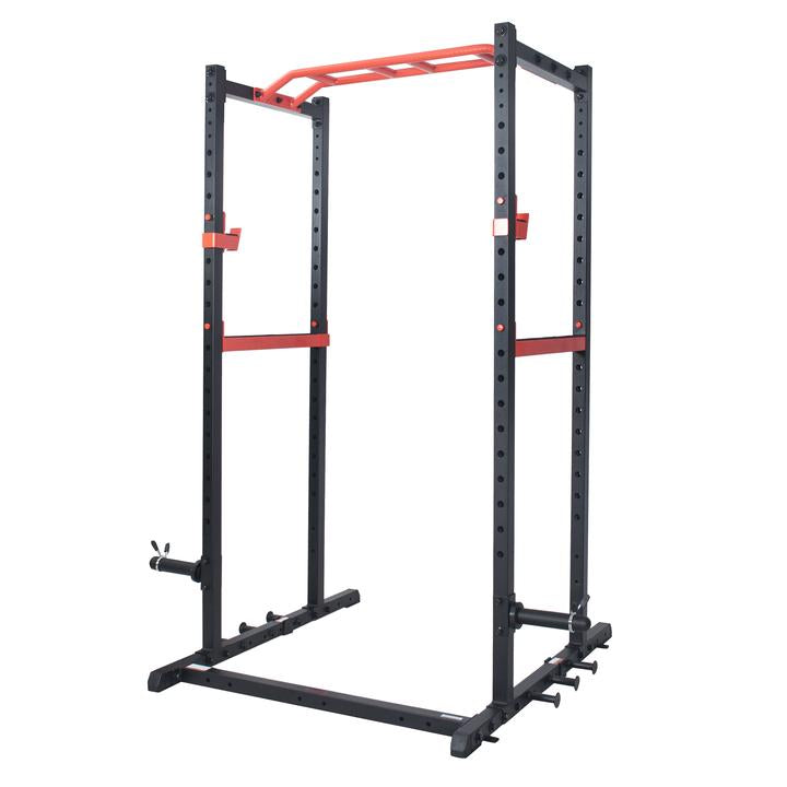 Sunny Health & Fitness Power Zone Power Cage Strength Rack