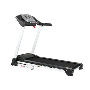 Sunny Health & Fitness Smart Treadmill W/ Auto Incline, Sound System, Bluetooth and Phone Function