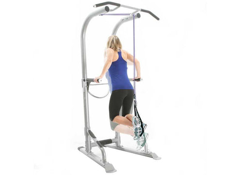 Image of BodyCraft T3 Total Training Tower, w/Ball, Ab Straps & Power Bands