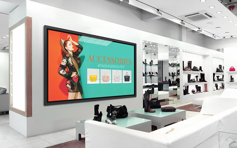 Digital Display Screens Boost Customer Experience