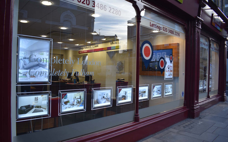 Window Displays For Estate Agents Full Service Resumes