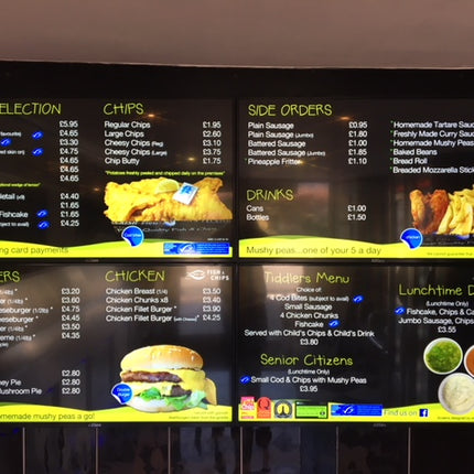 5 tips to max your digital menu