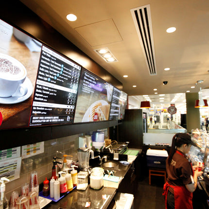 Go paperless with Digital Menu Boards