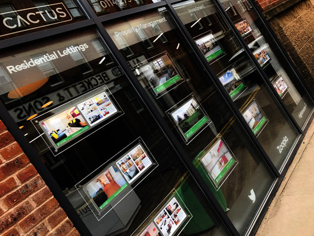 Complete Estate Agent Displays Services Fully Available Again