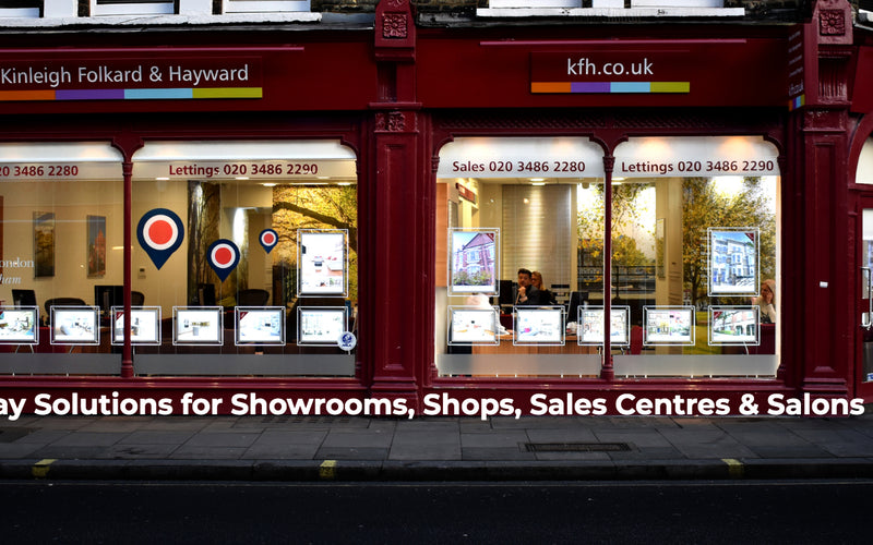 LED Window Displays Designed to Light Up Sales