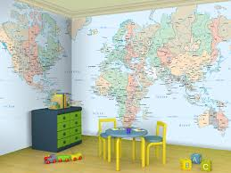 Own your 'hood with map wallpaper