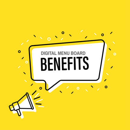 5 Benefits of Digital Menu Boards