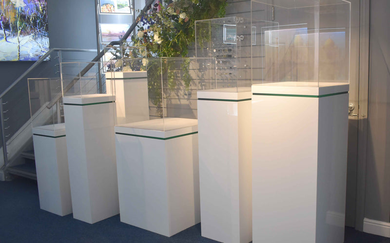 Illuminated Plinths Hit The Heights