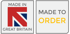Made in Great Britain. Made to order product