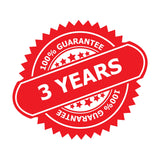 Three year product warranty