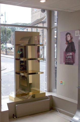 bespoke salon display