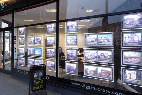 LED window displays