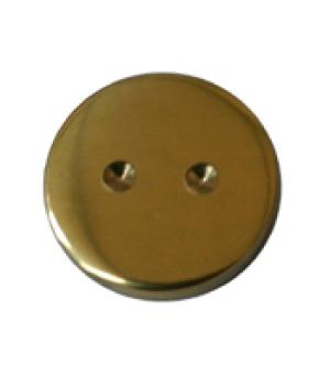 security mirror screw cap brass