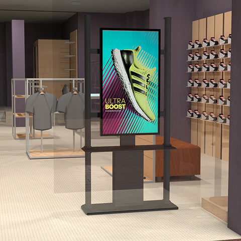Indoor Digital Signage Kiosk Stand