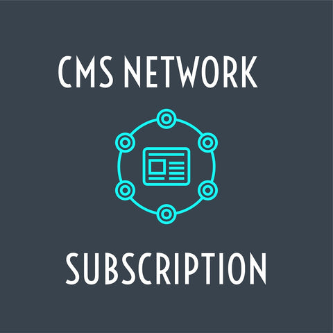 CMS Network Subscription For Digital Menu Boards