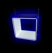 LED Illuminated Display Cubes