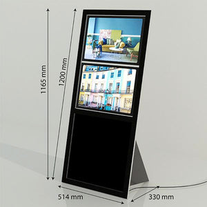 Milan LED Point of Sale Display (made to order)