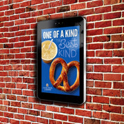 Outdoor Digital Poster wall mounted