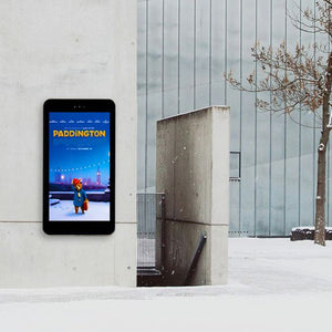 Outdoor Digital Poster wall mounted Paddington